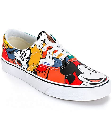 Vans Mickey Mouse disney x vans era mickey friends skate shoes