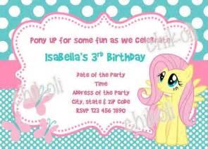my little pony birthday invitations amazing invitations