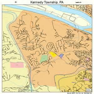 kennedy map kennedy township pennsylvania map 4239332