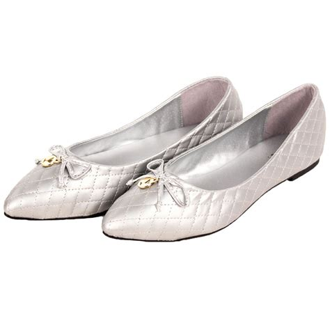 ballet flats shoes womens ballet flats quilted slip on shoes loafers pointed