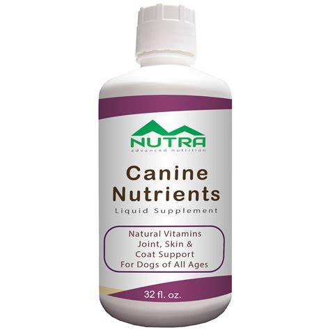 puppy supplements label vitamins liquid supplements
