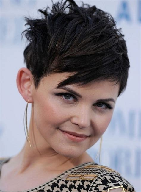 pictures of short layered pixie haircuts for women over 50 short straight pixie cut with bangs layered short black