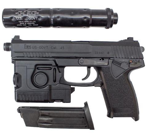 Airsoft Gun Tokyo Marui tokyo marui socom mk23 us government 45cal style gas airsoft pistol ha tm mk23 nbb fs