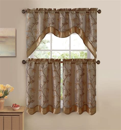 Curtain Kitchen Window Kitchen Window Curtain Sets Curtain Rods And Window Curtains