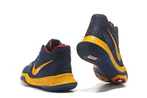 cavs shoes new nike kyrie irving 3 ep cavaliers blue yellow mens