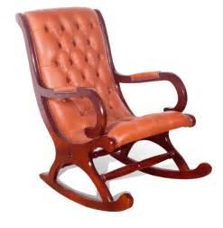 Leather Easy Chair Design Ideas Hardworker Rocking Chair Design Idea