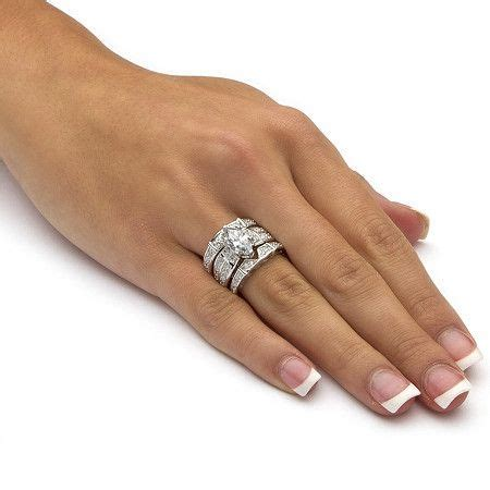 3 05 tcw marquise cut cubic zirconia sterling silver