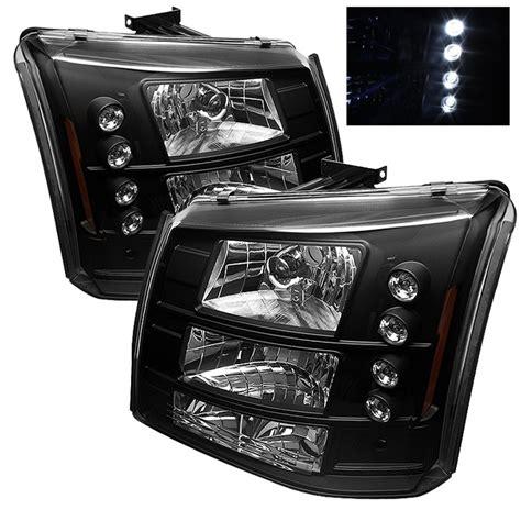 2005 silverado lights 2003 2006 chevy silverado 2500hd 1pc bumper lights led