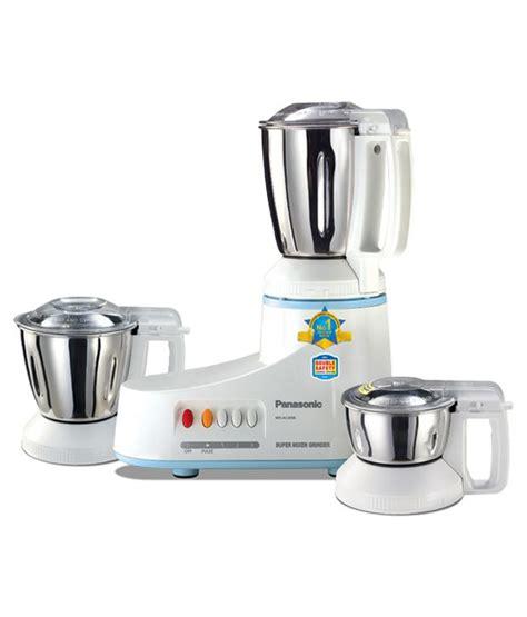 Panasonic Mixer Grinder panasonic mx ac 300 sh mixer grinder price in india buy