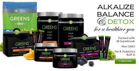 Greens Detox by It Works Greens Detox Superfoods