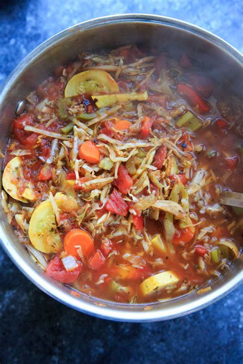 Detox Cabbage Soup Recipe by Detox Cabbage Soup Trial And Eater