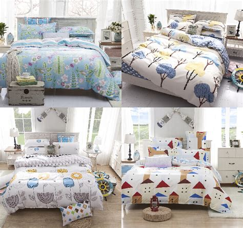 bright blue comforter set queen size bedding set poly cotton blue grey bed linens