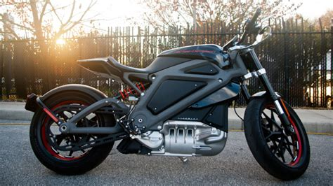 ride  harley davidson livewire   sunset