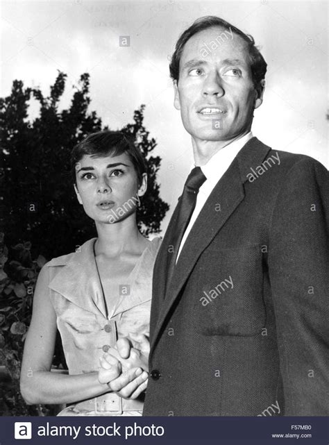 audrey hepburn husband audrey hepburn british film actress with husband mel