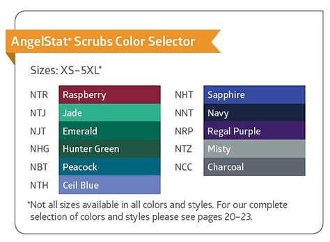 scrub color code unisex scrubs by medline scrubs unlimited