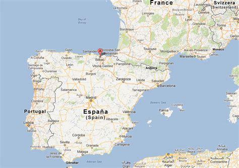 map of spain bilbao bilbao map and bilbao satellite image