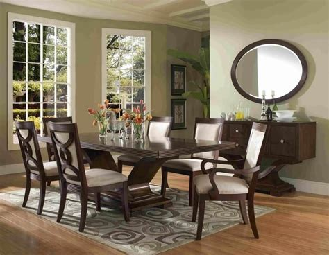 modern round dining room sets dining room modern varnished dining room sets with oval
