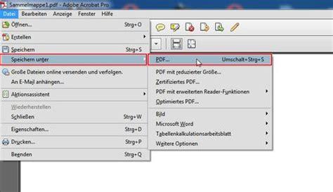 Bewerbung Als Pdf Datei Bewerben Mit Pdf Mehrere Pdf Dokumente In Einer Datei
