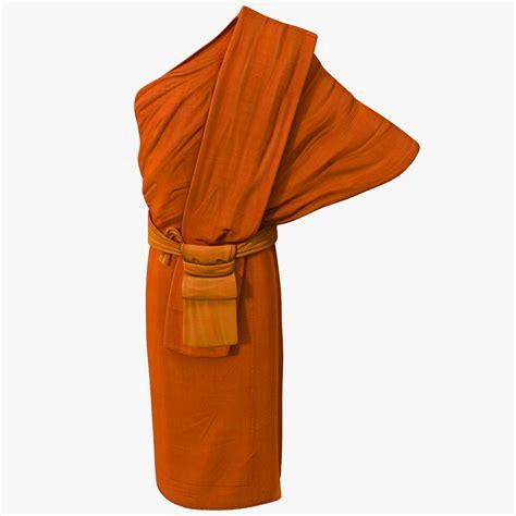 3d model buddhist monk