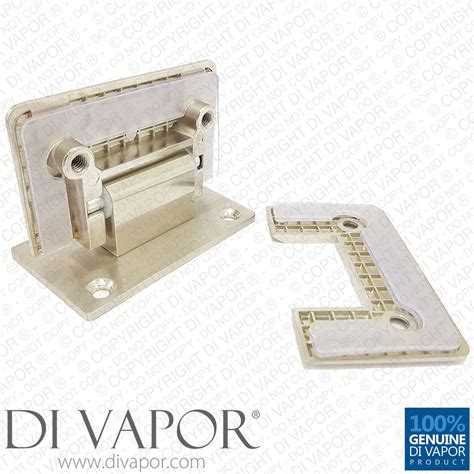 Shower Door Pivot Hinge Replacement 90 Degree Shower Hinge Wall To Glass Door Bracket Light Satin Nickel Finish Sided