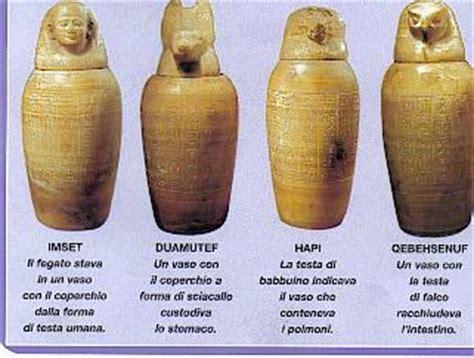 vasi canopi egiziani antico egitto