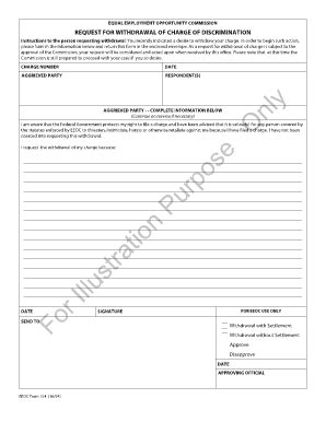 Eeoc Search Eeoc Form 154 Fill Printable Fillable Blank Pdffiller