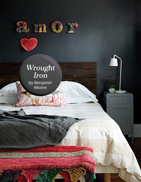 wrought iron  benjamin moore paint color pick