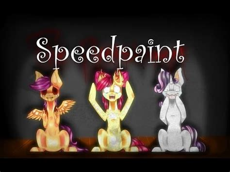 speed paint sai: mlp oc 1# 'bellamina' | doovi