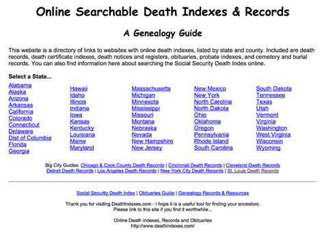 Records Index 10 Places To Start Your Search For Records