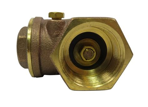 swing check valve 1 1 4 quot brass swing check valve