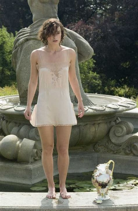 The Keira Knightley Slip That Almost Was by Keira Knightley As Cecilia Tallis In Atonement 2007