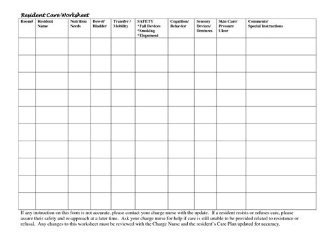 charge nurse report sheet template charge nurse report