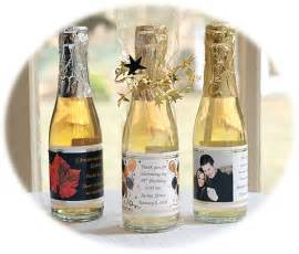 Wine Bottle Wedding Favor by Mini Wine Wedding Favor Mini White Wine