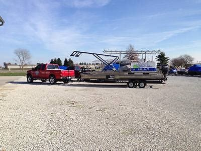boat lift barge hydraulic boat trailer boats for sale
