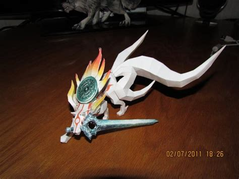 Amaterasu Papercraft - okami papercraft by meercat122 on deviantart
