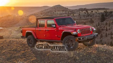 New Jeep Truck 2020 by 2020 Jeep Gladiator Truck Images Official Specs