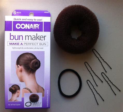 bun hair direction how to a donut bun trusper