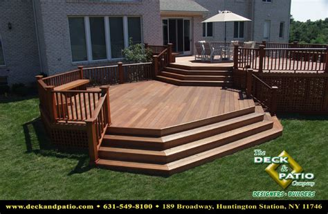 wrap around deck designs wood and composite decks trex timbertech azek deck traditional porch other metro by