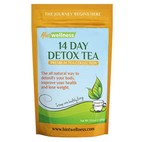 Hint Wellness 14 Day Detox Tea by 20 من مشروبات الشاي الصحية التى ت نقى جسمك من السموم