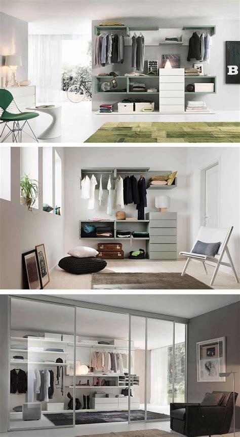 estantes para dormitorios fotos de armarios abiertos para dormitorios modernos