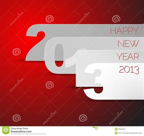 happy new year 2013 vector card stock images image 26602594