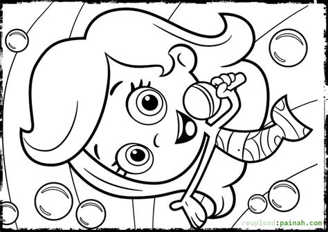 bubble guppies coloring pages games bubble guppies coloring pages molly singing coloring pages