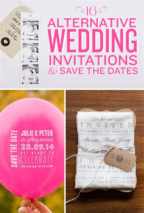 save the date wedding invitations email 16 alternative wedding invitations and save the dates
