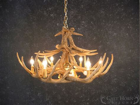 Deer Antler Chandeliers Whitetail Deer 12 Antler Chandelier Cast Horn Designs