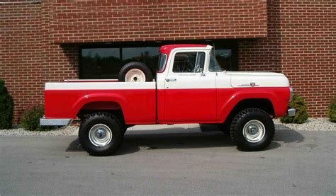 Truck Upholstery Shop 1959 Ford F 100 4x4 Pickup 43548