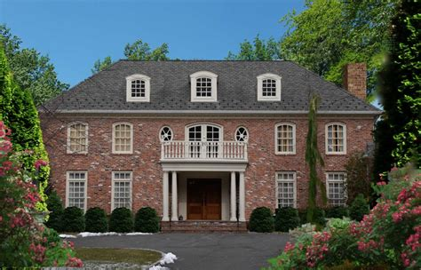 Deai Team Re Max Estate Properties アメリカ不動産 House Style Brick Georgian House Plans