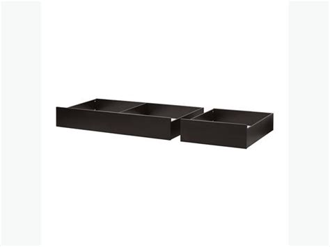 ikea hemnes under bed drawers wanted ikea hemnes under bed storage box drawers black