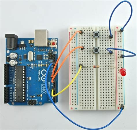 Tutorial Arduino Adafruit | tutorial arduino lesson 6 digital inputs arduino