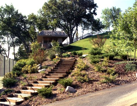 Hill Gardens by Large Hillside Garden