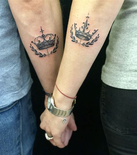 his and hers crown tattoos his and hers crowns sketchcrowns hisandhers